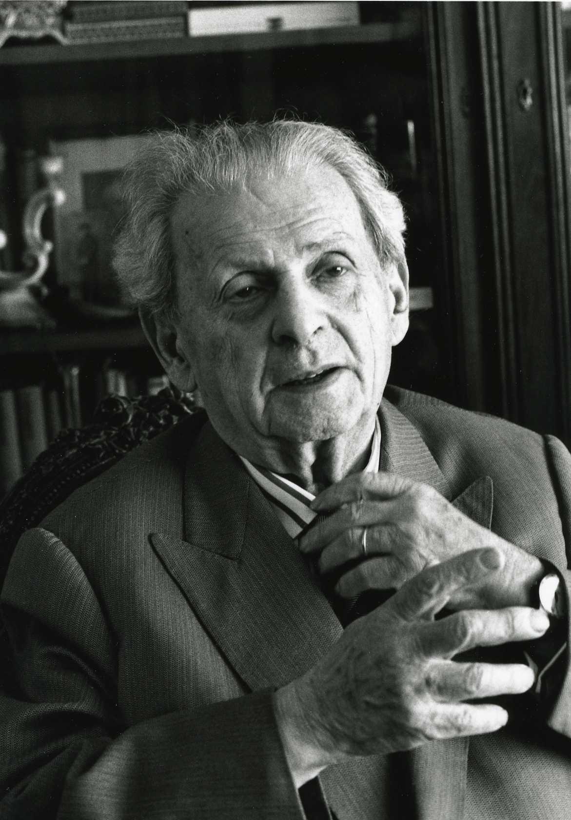 Emmanuel Levinas door Jan Vorstenbosch