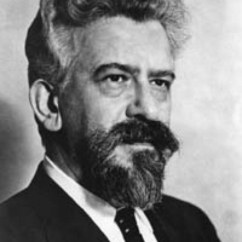 Abraham Joshua Heschel door Kees Kaashoek