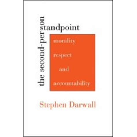 The Second Person Standpoint: Waarom ethiek er toe doet